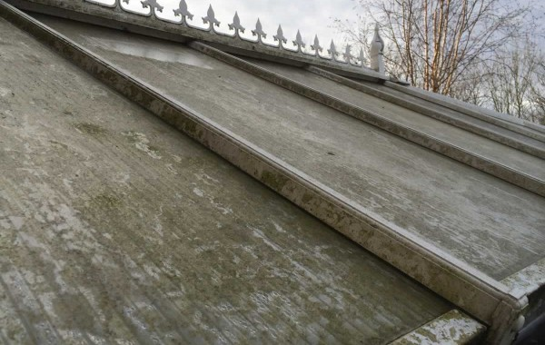 Roof panels dirty?