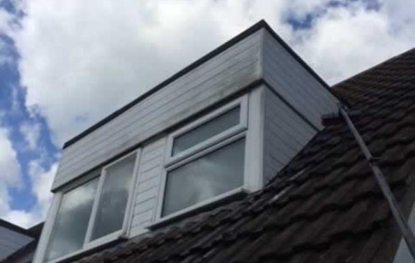 Dormer before cleaning
