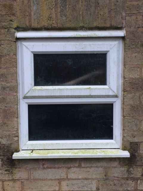 UPVC Before Cleaning